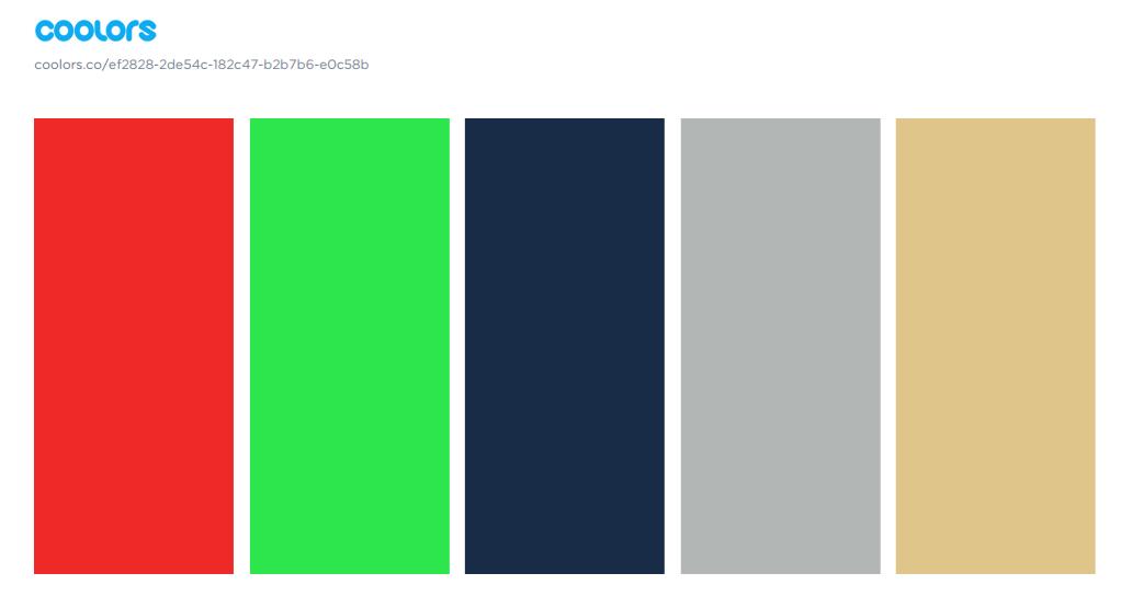 AW17 Palette