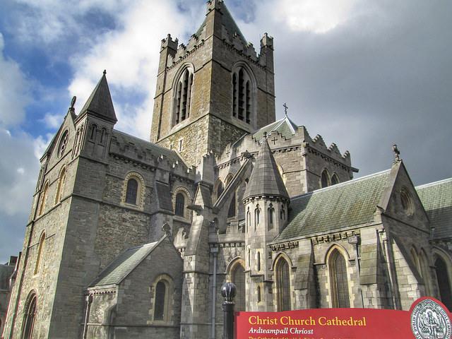 Christ Church Cathedral Dublin Exterior