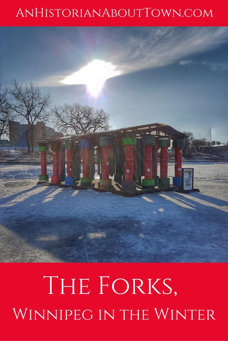 The Forks, Winnipeg in the Winter
