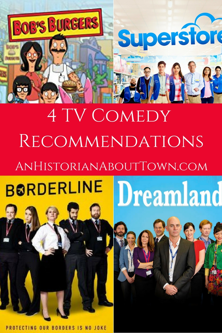 4 TV Comedy Recommendations