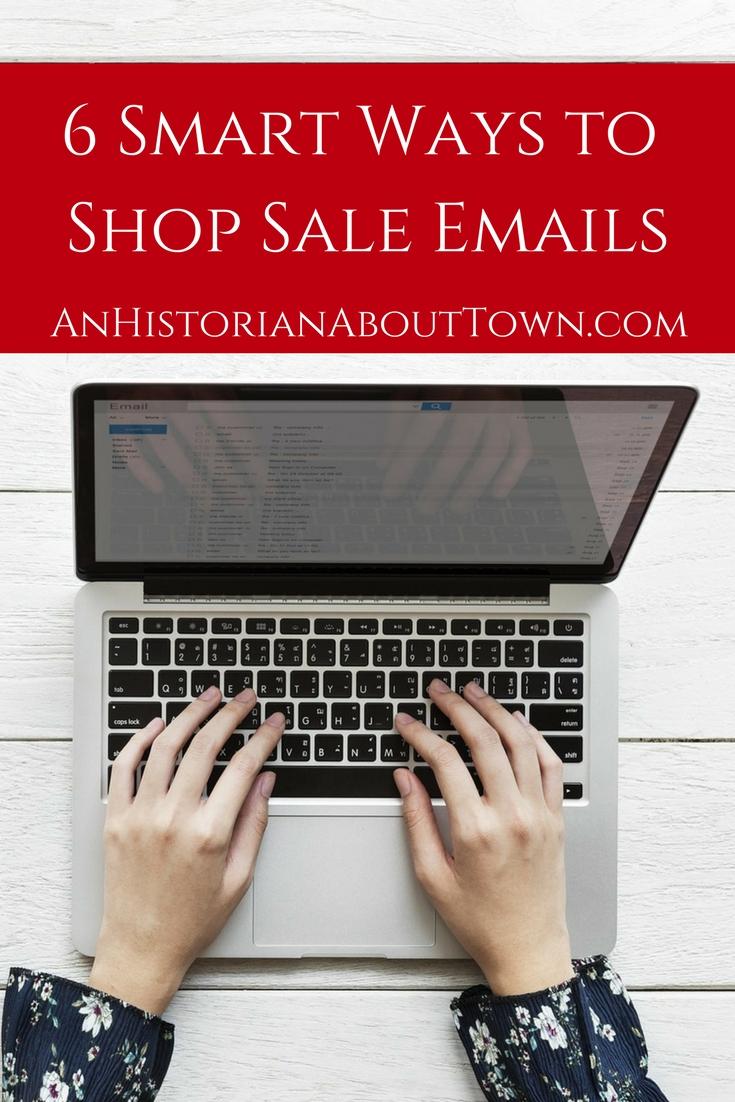 6 Smart Ways to Shop Sale Emails