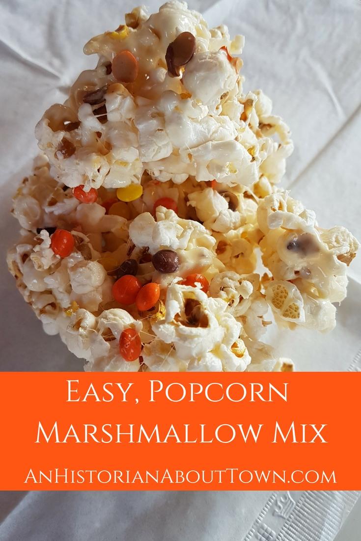 Easy, Popcorn Marshmallow Mix