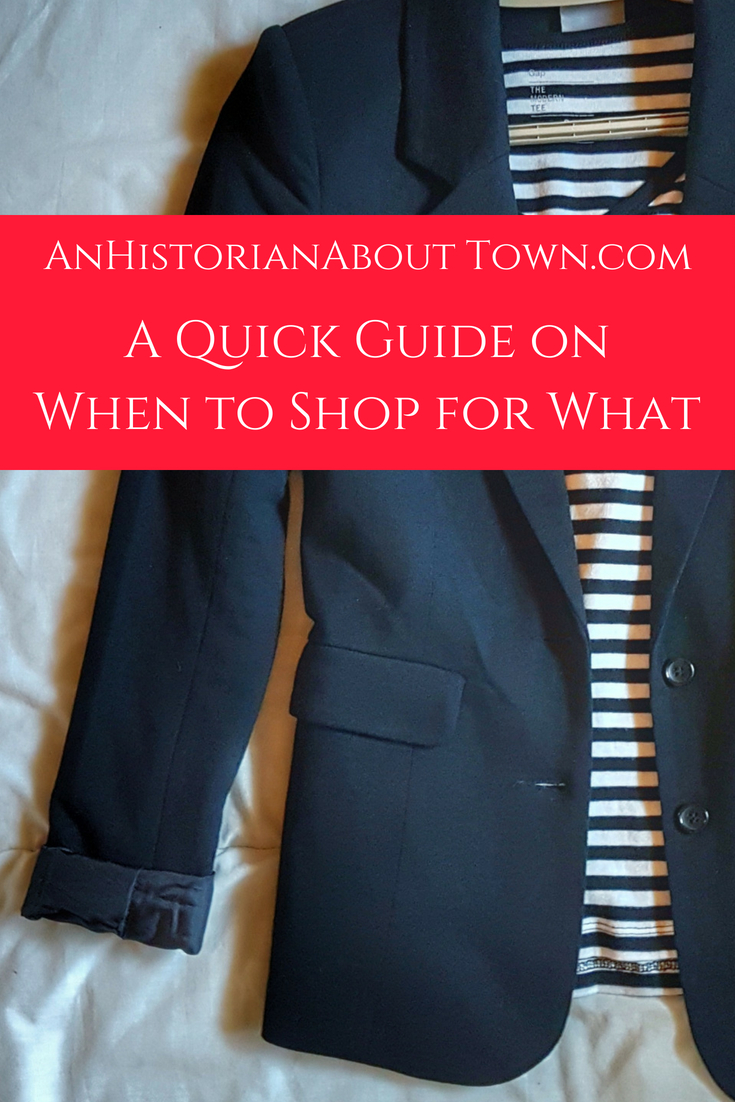 A Quick Guide onWhen to Shop for What